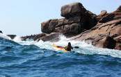 sea kayaking cornwall