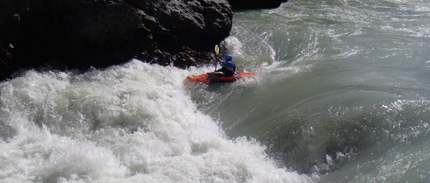 white water kayaking Iceland