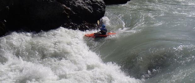 white water kayaking Iceland