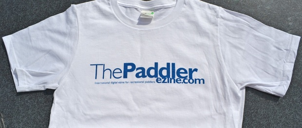 The Paddler ezine t-shirts for sale