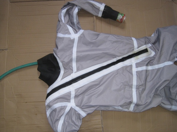 leak-testing your drysuit