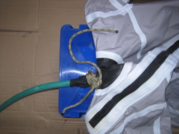 leak-testing your drysuit