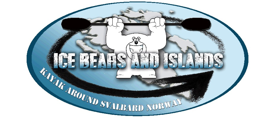 ice bear and islands