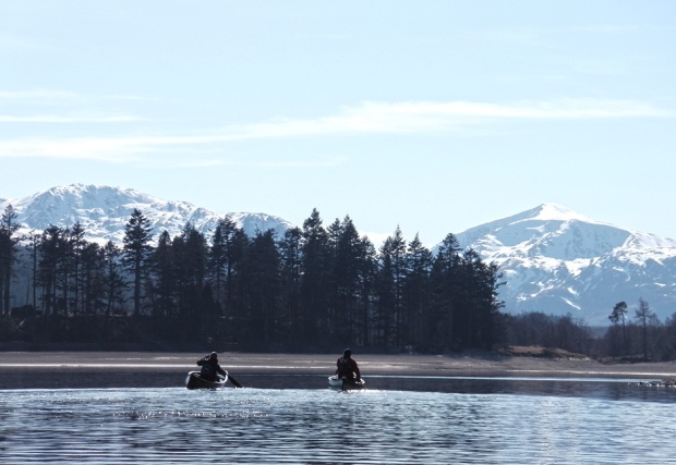 dave rossetter canoeing