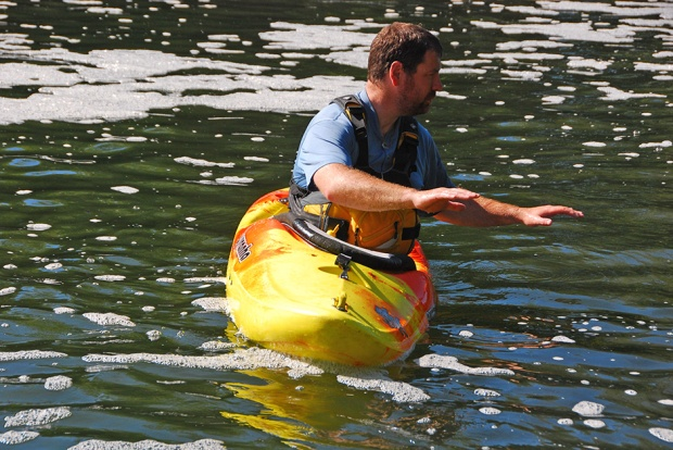 WW paddling skills