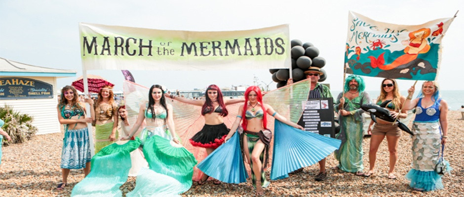 march of the mermaids