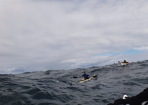 sea kayaking cornwall