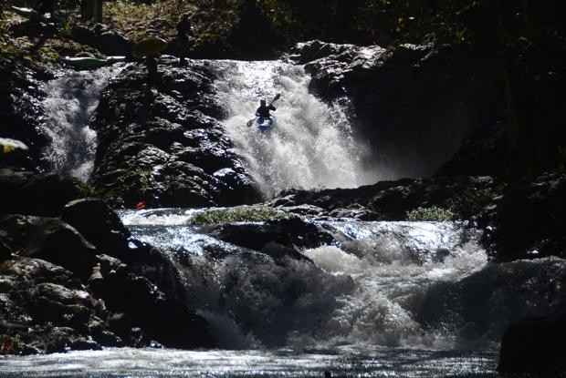Mexico white water kayaking