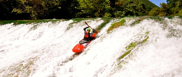 Mexico white water kayaking