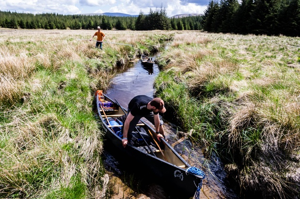 Loch Doon by Wilderness Canoe