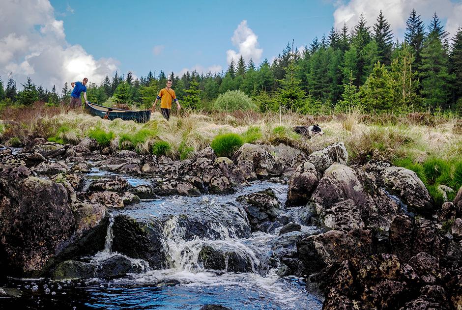 Loch Doon by Wilderness Canoe
