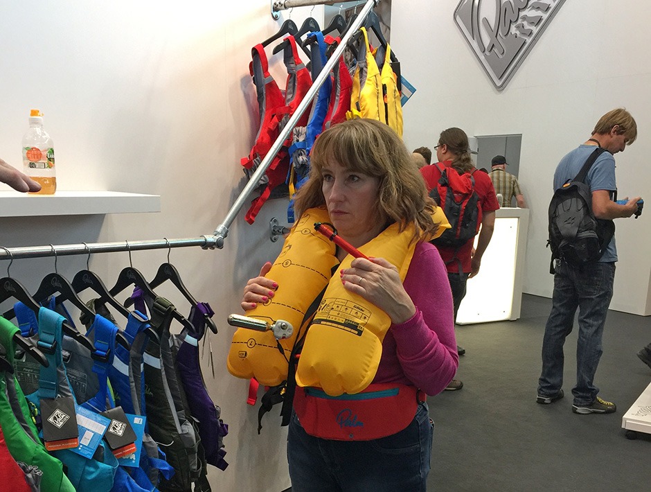 Glide inflatable waistbelt