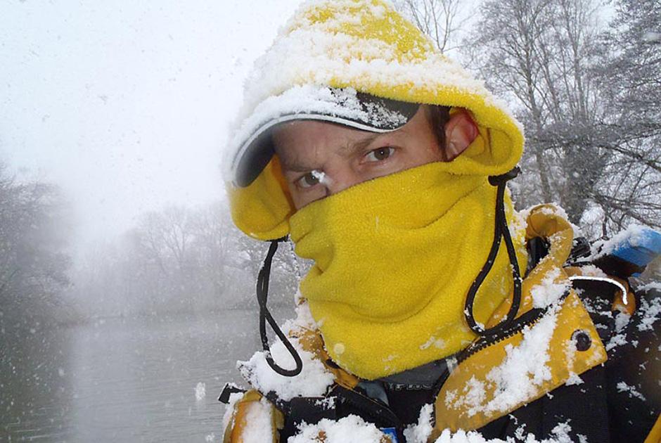 Mark Crame paddling clothing