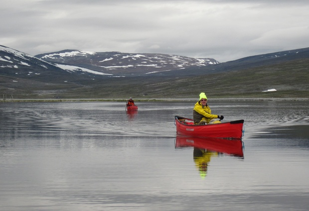 Pakcanoes in Lapland