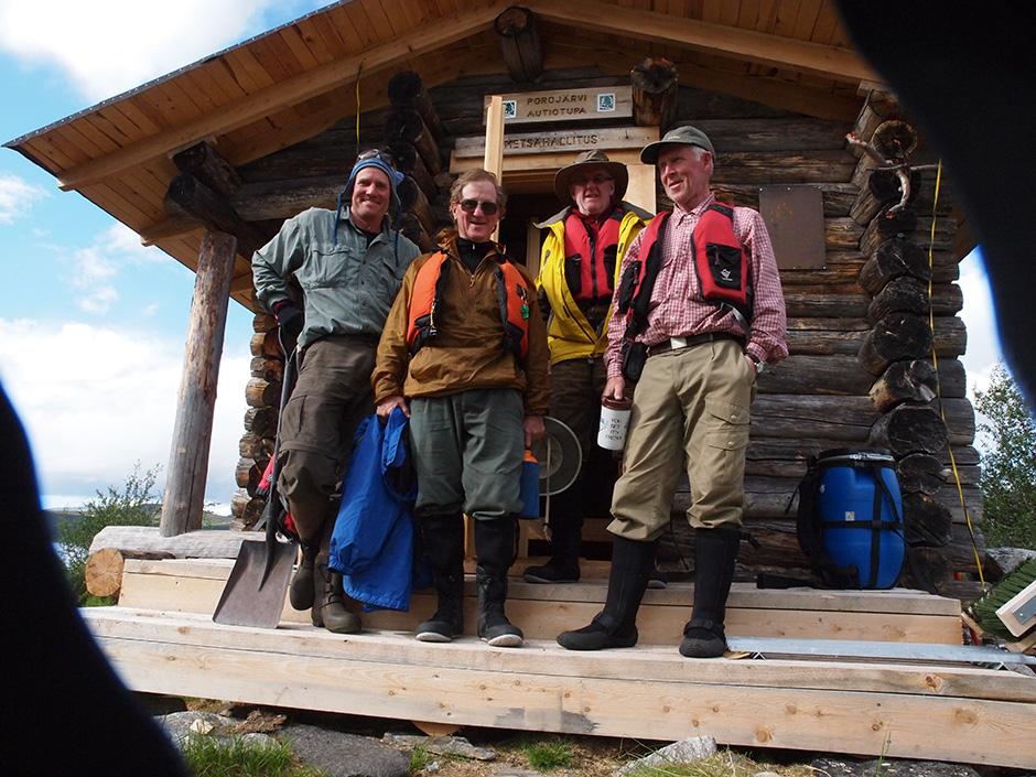 Pakcanoes in Lapland