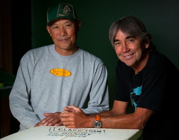 Dave Chun - gerry lopez - Kialoa Paddles