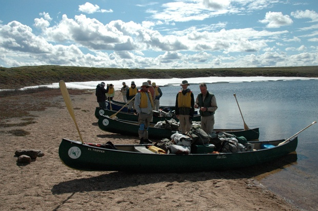 Hudson Bay in Canada's Arctic