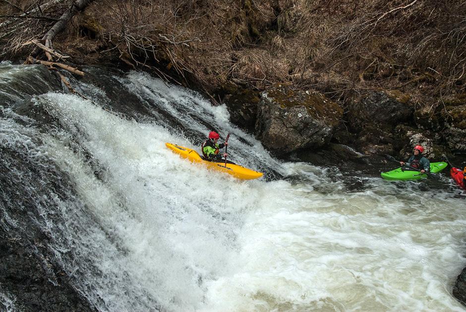 Norway - kayaking the land of waterfalls