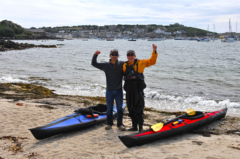 Lands End to Scilly Isles by Simon Everett