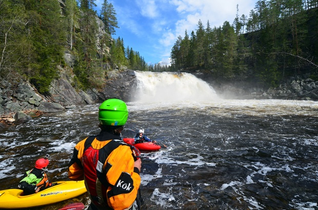 Norway - kayaking the land of waterfalls