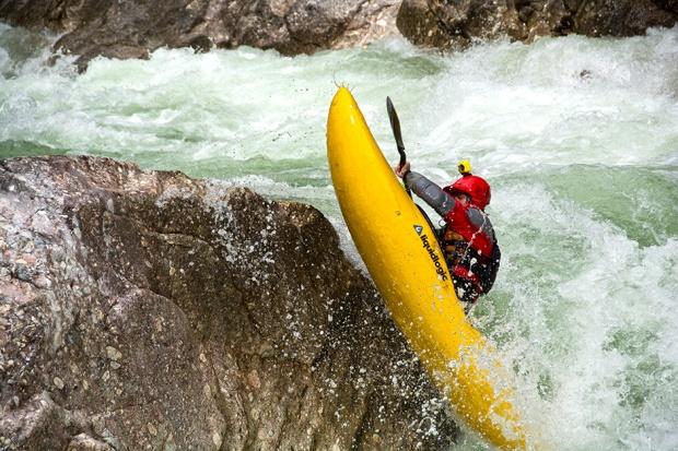 Kayaking into the Siberian wilderness