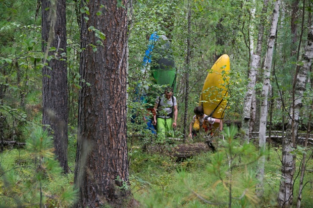 Kayaking into the Siberian wilderness