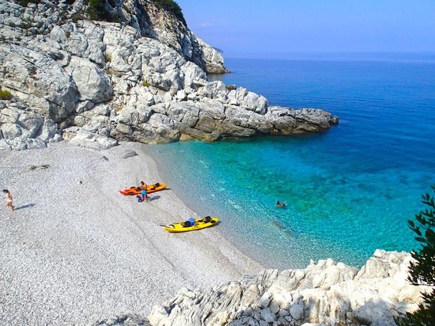 sea kayaking pelion Apostolos Kontoulis