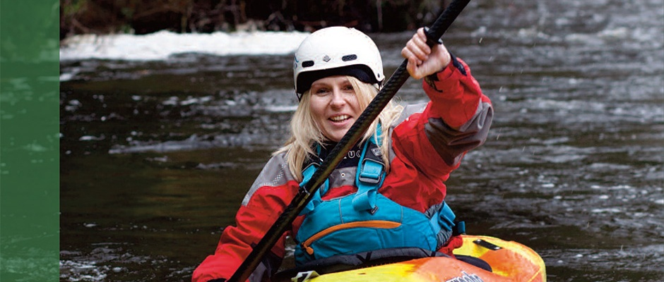 sonja jones kayaking
