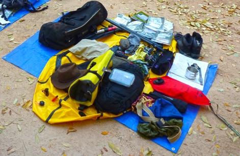 Packrafting by Chris Scott