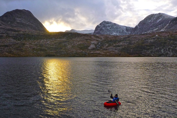 Packrafting by Chris Scott