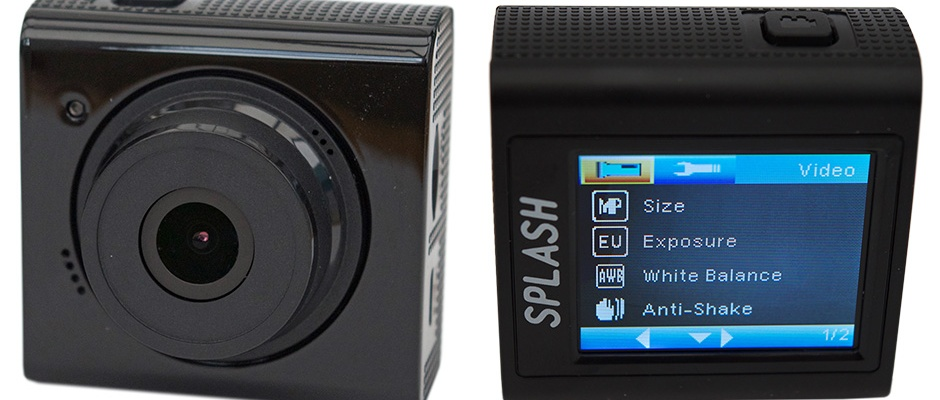 Kitvision Splash Waterproof Action Camera