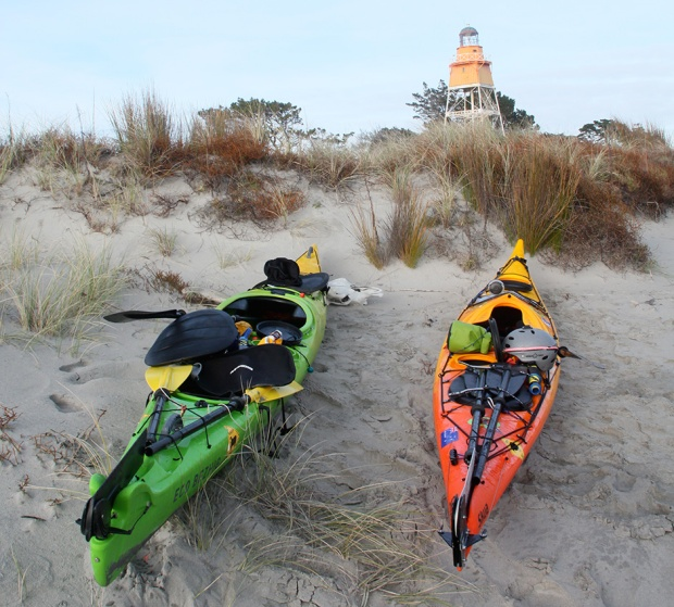 new zealand sea kayaking