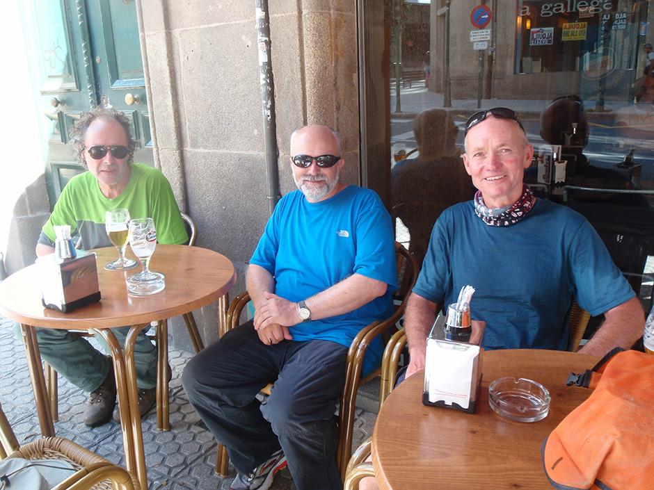 Simon King, Steve Seinet-Martin and David Truzzi-Franconi