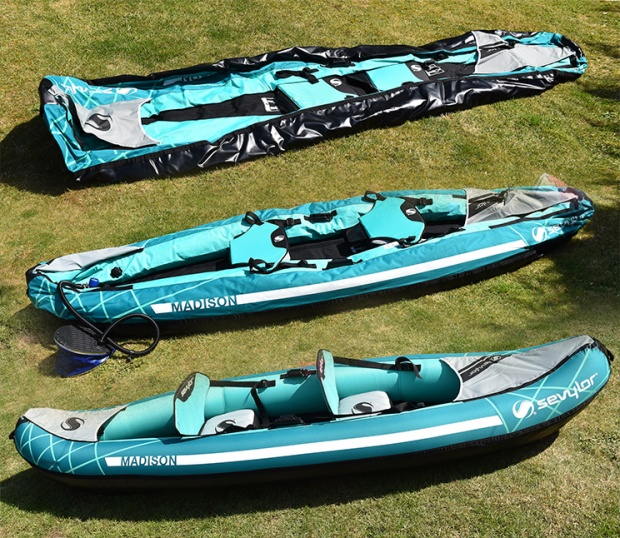Sevylor Madison inflatable kayak