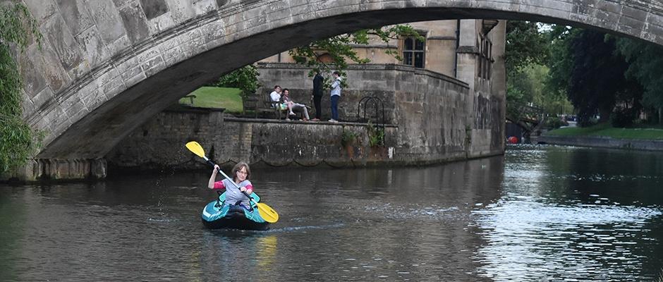 Sevylor Madison inflatable kayak