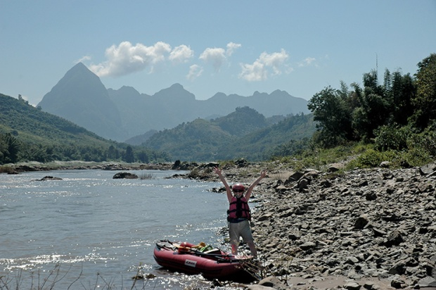 Kayaking Laos by Karla Held