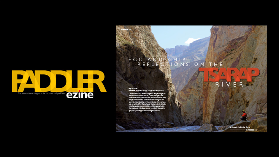 The Paddler ezine Autumn/Fall issue