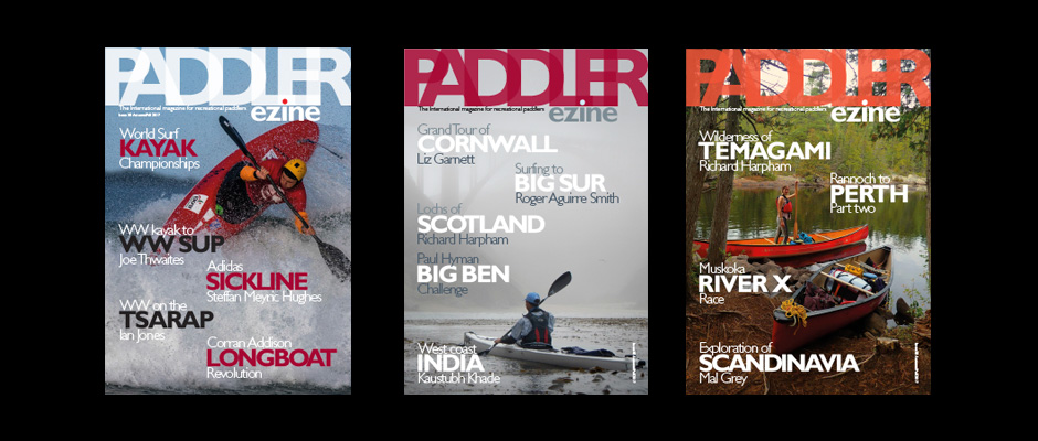 The Paddler magazine Autumn/Fall issue 38