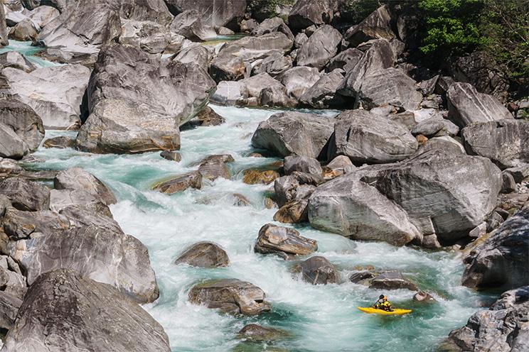 Toni Prijon – Verzasca River