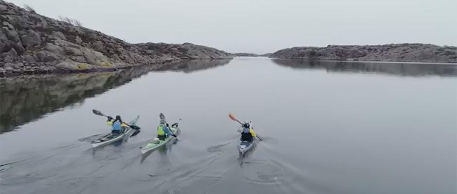 Sea Kayaking Grebbestad
