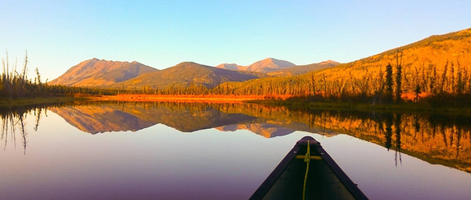 View from my canoe
