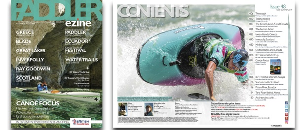 The Paddler 48 contents