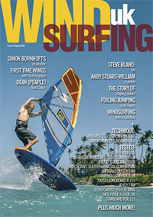 Windsurfing UK Aug 2019