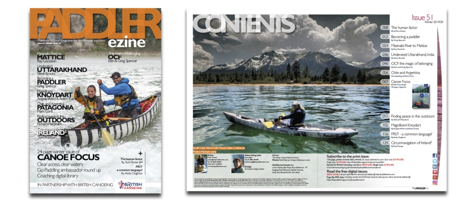 The Paddler winter 2020 issue 51